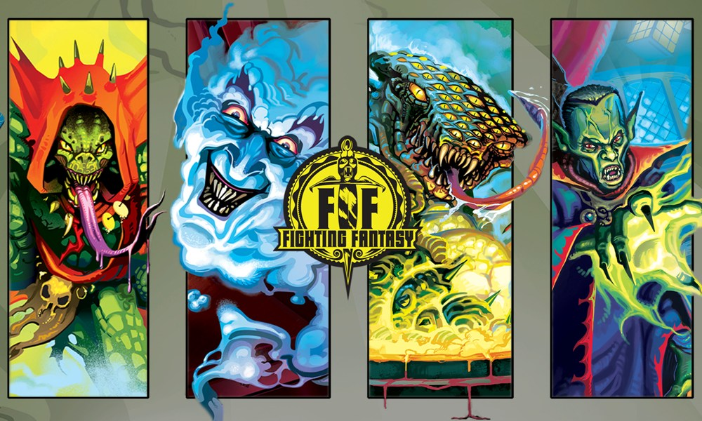 Fighting Fantasy: The Forest of Doom / The Citadel of Chaos / Deathtrap Dungeon / Creature of Havoc adaptations review